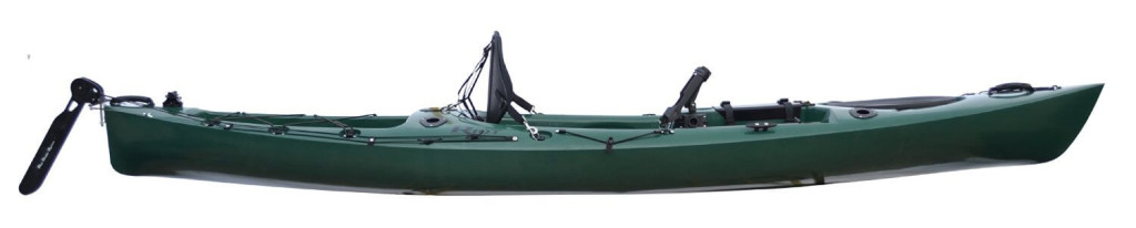 Riot Kayaks Escape 12 Angler Sit-On-Top Flat-water Fishing Kayak (12-Feet)