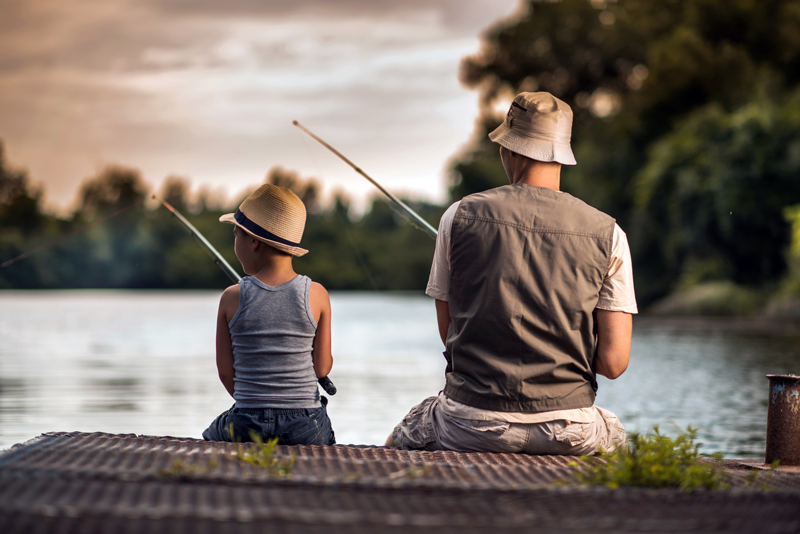 Fishing with kids 1