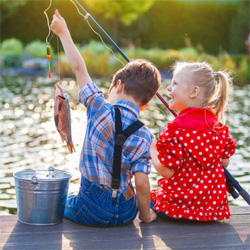 Fishing with kids 14
