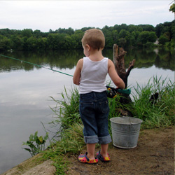 Fishing with kids 5