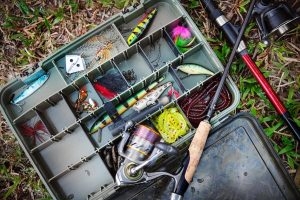 fishing lures and bait