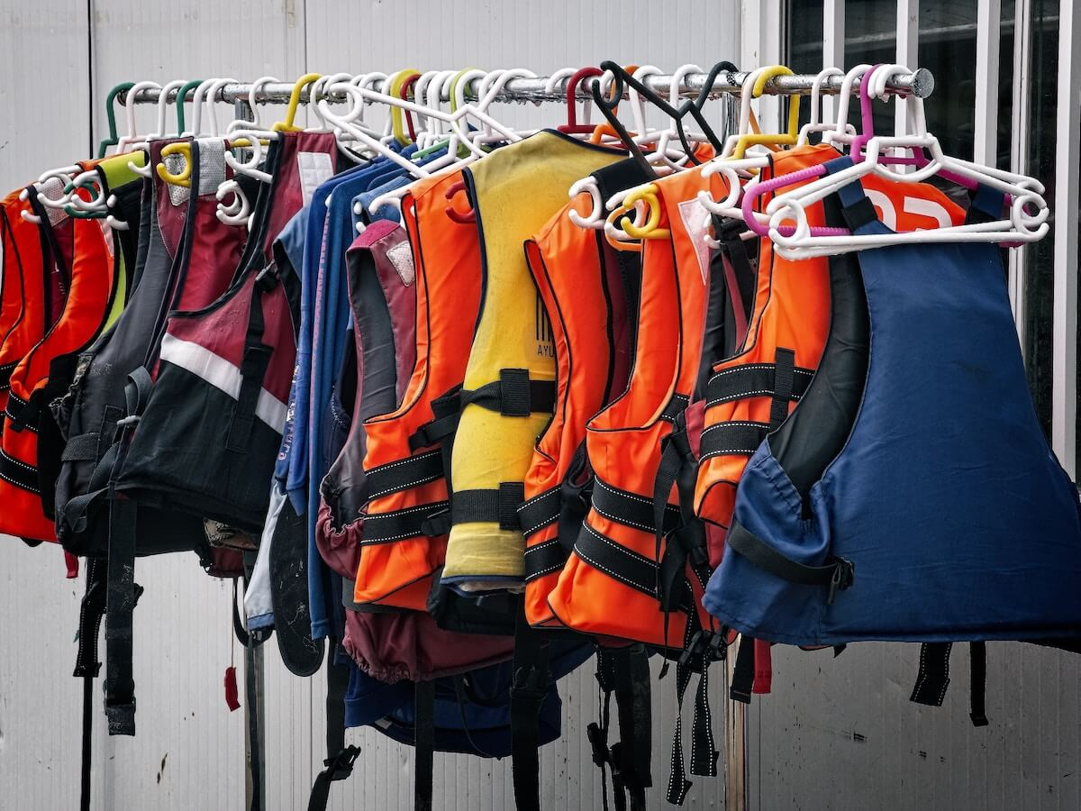 lifevests hanging